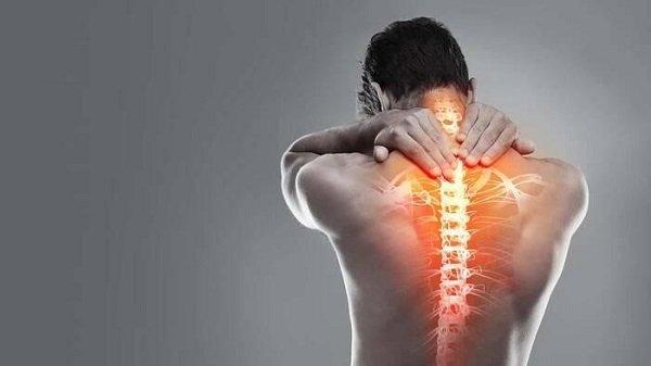 Indemnización por traumatismo en la columna vertebra