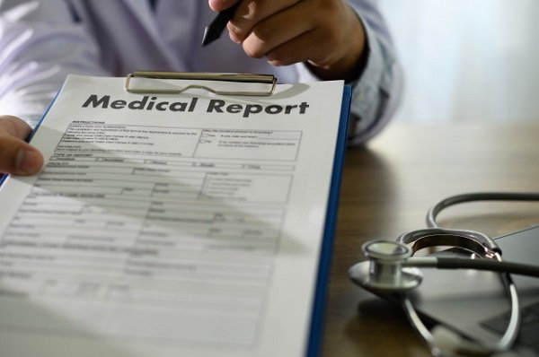 Informe médico para solicitar incapacidad permanente