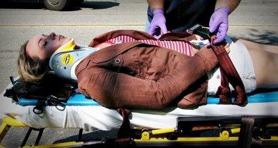 Lesiones físicas que generalmente ocurren tras un accidente de tráfico